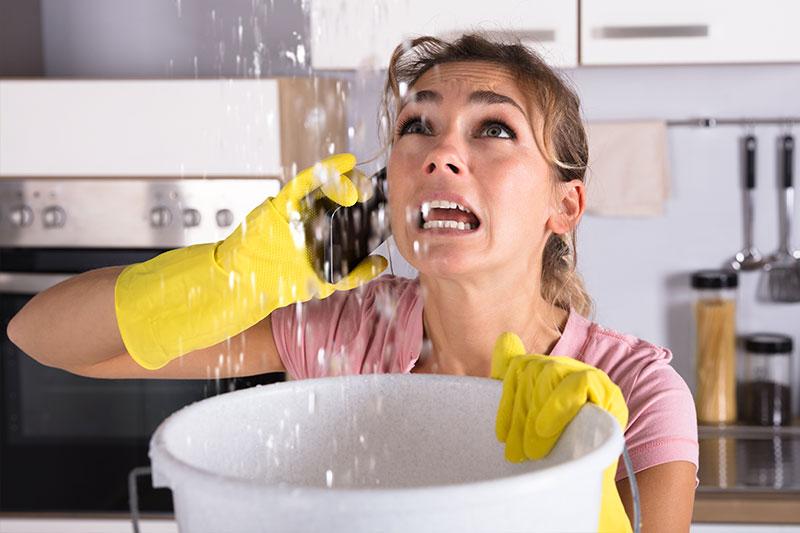 Wasserschaden-Sanierung